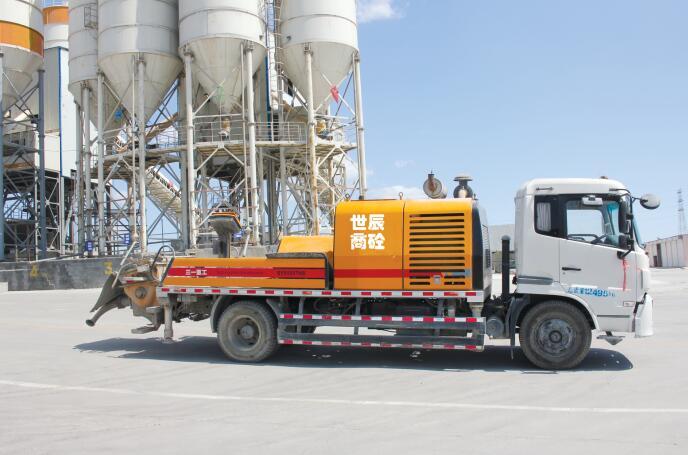 混凝土泵送车